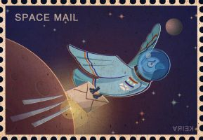 space mail2 by crystalanna