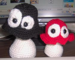 Little Red Looney Shroom by ChezMichelle