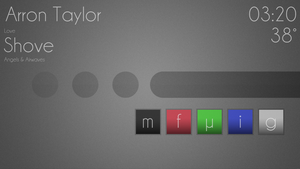 Smooth Text Rainmeter Theme by arrontaylor