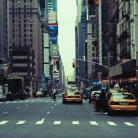 Times Square street by DarkSaiF