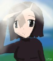 Yumi:Looking Into the Distance by sakurabana42316