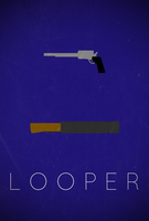 Looper Poster by SpaceDelusion