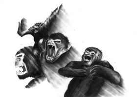 The Revolt of the Apes by Agolem