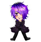 Ib: Chibi Garry by SweetJiJiSama