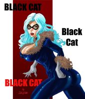 Black Cat color by IdolOfDeath by IDOLofDEATH