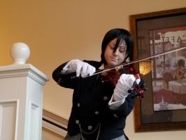 The Butler - With a Soft Melody by Shinigami-no-Miko