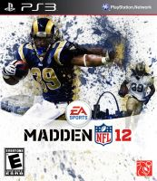 Madden 12 Steven Jackson Box Art by joshzachary