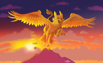 Golden Gryphon by stinawo