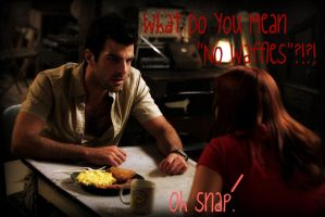 No Waffles For Sylar? by Werelover969