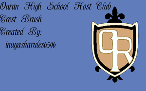 Ouran Crest GIMP brush by InuyashaRules6596