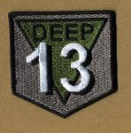 Deep 13 Logo Patch by NeitherSparky