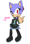 Base 32: Female Sonic: Hatsune Miku! by Amies-Bases