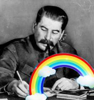 Rainbow Stalin by Vash10887