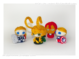Avengers pack updates by Aries-on-Mars
