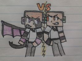 Enderlox VS Deadlox by DanaJill
