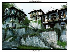 old turkish houses by TR3d