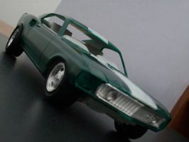 Mustang Mach 1 model no 2 by mikebontoft