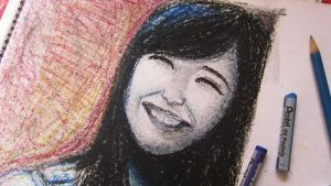 Tiffany of Girls' Generation:Pastel Color Painting by joyglyncel