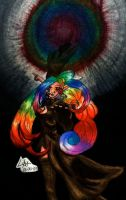 Rainbowy elf...thingy... by soulesslouisa