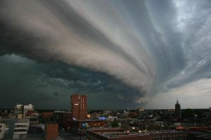 The same stormcloud Enschede by CabalcoTech