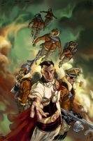 THE END LEAGUE Issue 5, Cover by EricCanete