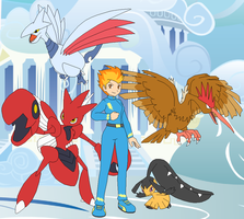 Cloudsdale Gym Leader Spitfire by SelenaEde