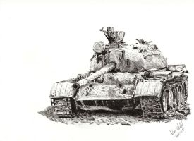T55 from Iraq by Einsklein