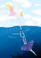 saved From the depths by Rainbow-tan
