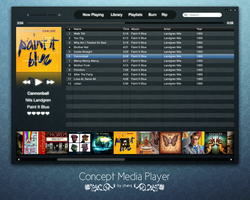 Concept Media Player by chanq