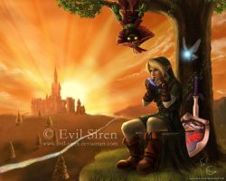 TLoZ - Ocarina of Time by Evil-Siren