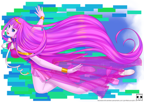 Princess Bubblegum by Rusinstein