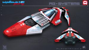 AGSystems - WipEout FURY - PS3 by nocomplys