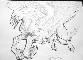 Hippogriff by Nutthead