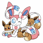 Mother Sylveon by MermaidNerin