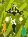 Chrysoberyl-Emmy and Citrine Fusion by Faith-Wolff