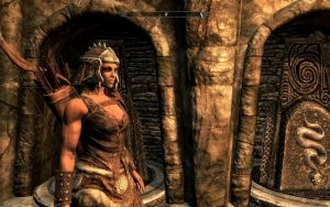 Skyrim female muscle mod by Tigersan