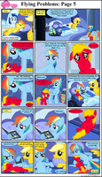 MLP FiM: Flying Problems: Page 5 by DarthGoldstar710