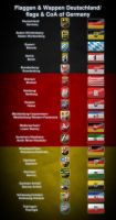 flags and coat of arms of Germany by Kristo1594