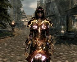 Female Realmshatter armor by Zoulic