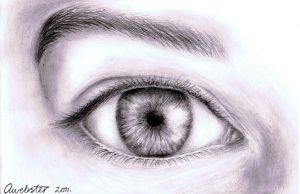 Realistic Eye by annoKat