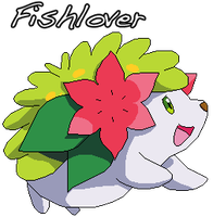 Shaymin Pixel by Fishlover
