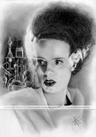 Bride of Frankenstein by hoernchen610