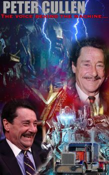 Optimus Prime-Peter Cullen_Montage by MessyArtwok