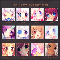 2015 Art Summary by Yamio