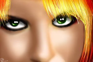 PaintTest3: Hayley Williams by wLadyB91