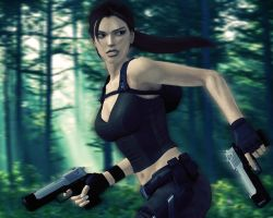 Run, Lara, Run by Halli-well