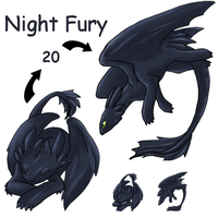 Night Fury Squiby by lur