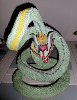 3d origami serpent 2 by dfoosdc