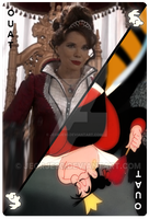 OUAT Card Queen of Hearts by jeorje90