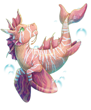 baby hippocampus by Fufunha